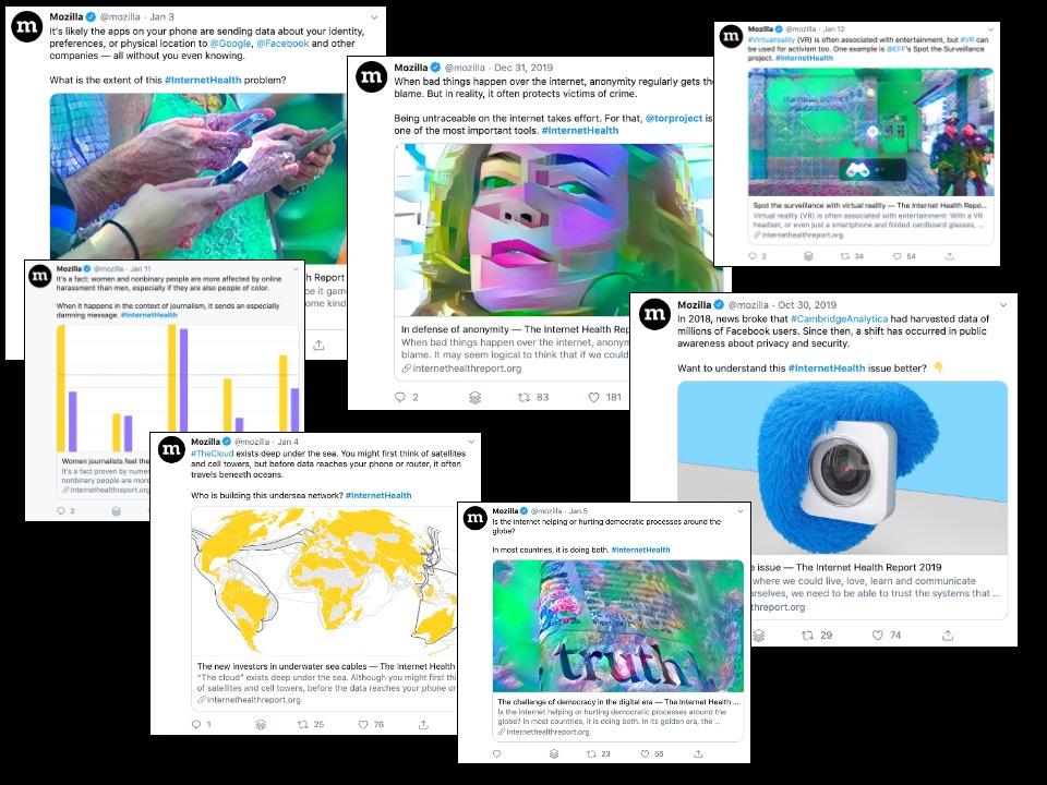 IHR Social media